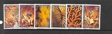 French Polynesia Sc 1024-9 NH Set of 2010 - CORALS & FESTIVAL