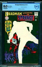 Strange Adventures #211 CBCS VF 8.0 Off White to White DC Comics