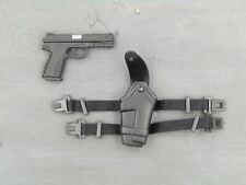 1//6 Scale Toy Appleseed-Deunan Knute-Hécate pistolet P08 /& Drop Leg Holster