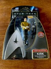 Star Trek Warp Collection Captain Kirk Figure Fully Articulated & Poseable NEW
