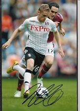 Signed Photo of Fulham Footballer Damien Duff