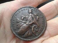 Medaille um 1745 RDR Habsburg Maria Theresia Krönung Ungarn Österreich 40 mm