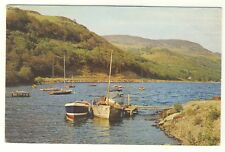 Old Postcard (1968) - By The Shores of Loch Earn, Nr St Fillans - Posted M153