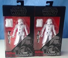 Star Wars Black Series,2 First Order SNOWTROOPER army builder lot action figures