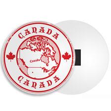 Cool Canada Map Fridge Magnet - Maple Leaf Ottawa Travel Souvenir Gift #4582