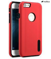 """Melkco 360 Hybrid 2 in 1 Protection Case For Apple iPhone 6 6S 4.7"""" Red & Black"""