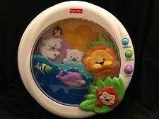 Fisher Price Precious Planet Melodies Motion Musical Crib Soother Lights Animals