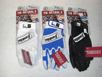 FRANKLIN THE NATURAL II ADULT BATTING GLOVES - VARIOUS COLORS AND SIZES