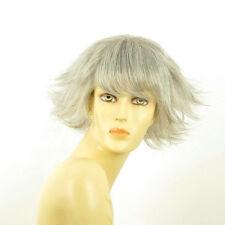 Perruque femme grise cheveux lisses ref  MELISSA 51