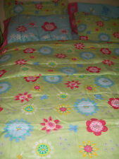 8-pc. Colorful Floral Butterfly Bees Bed In A Bag Flowers Girls Comforter Set