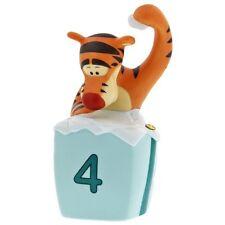 Pooh Collectible Tigger Figurine 4 th Birthday Tigger Cake Topper porcelain four