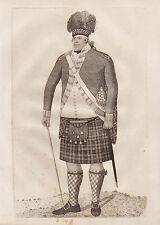 John Kay ORIGINALE ANTICA ACQUAFORTE. Samuel McDonald, nella uniforme di..., 1796