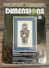 Dimensions Counted Cross Stitch Kit Ginger Jar 3692 NOS Sealed