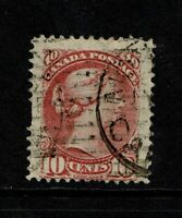 Canada SC# 45, Used, Hinge Remnant, minor creasing - S6774