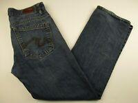 Mens Irreverent 32x30 Medium Blue 100% Cotton Straight Fit Denim Jeans