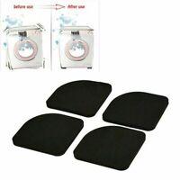 4 PCS Stoß und Anti-Rutsch Pad Mute Baumwolle für Waschmaschine Fast NEU