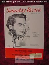 Saturday Review April 23 1960 T H HUXLEY CYRIL BIBBY LOUIS J HALLE JEROME BEATTY