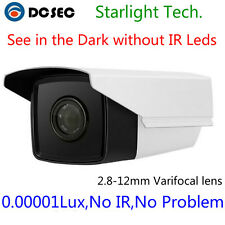 Low Light Analog CCTV Security camera viewer Color night Vision Bullet mount BNC