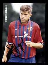 Benjamin Huggel  Autogrammkarte FC Basel 90er Jahre  Original Signiert+A 154590