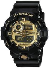 Casio G-Shock Mens Black Super Illuminator Analog Digital  Watch GA710GB-1A