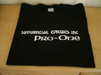 RETRO T SHIRT SYNTH DESIGN PRO ONE S M L XL XXL SEQUENTIAL CIRCUITS