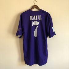 Real Madrid Football Shirt Raul #7 Adults XL