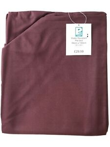 EXTRA LARGE WATER RESISTANT PET BED COVER IN BURGUNDY DOG BEDS / MATS 99 X 149CM