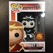 Funko POP Asia Monkey King Black and White Exclusive Mint Box