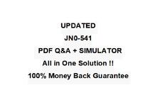 Juniper Networks IDP Certified Internet Associate (JN0-541)  QA PDF&Simulator