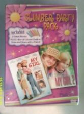 DVD SLUMBER PARTY PACK ---   MY GIRL & MY GIRL 2 ----  Plus Box Colored Chalk