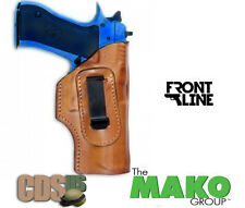 FRONT LINE BROWN INSIDE WAISTBAND IWB LEATHER HOLSTER HK USP COMPACT FL3294-BR