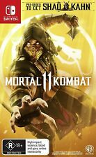 Mortal Kombat 11 Nintendo Switch Brand New Sealed AUS