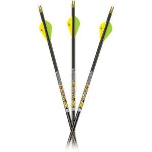 3pk Carbon Express Mayhem Hunter DS Arrows 250 Spine