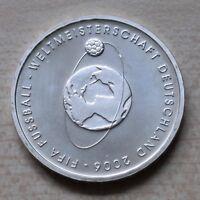 10 Euro Gedenkmünze BRD 2004 FIFA Fussball-Weltmeisterschaft 2006 Silber