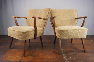 Cocktail Sessel Clubsessel Vintage 50er Easy Lounge Armchair Mid-Century 50s 1/4