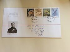 Post Office First Day Cover Greenwich 1884 - Meridian - 1984
