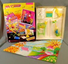 Jem Video Madness It'S Workin Out Playset 1986 Nrfb Sealed Contents Hasbro