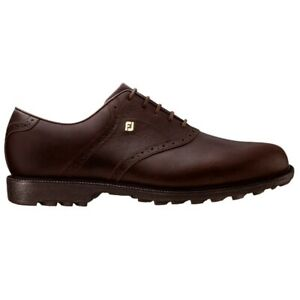 New in Box Footjoy Club Professionals Men's Golf Shoes, Chocolate, 57005
