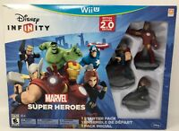 Disney Infinity: Marvel Super Heroes 2.0 Edition Video Game Starter Pack- Wii U