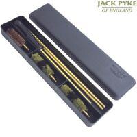 JACK PYKE SHOTGUN CLEANING KIT SHOT GUN MOP WIRE BRUSH RODS STORAGE BOX HUNTING