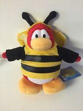 Disney Club Penguin Series 1 Bumble Bee Plush BRAND NEW & RARE!
