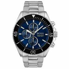 HUGO BOSS OCEAN EDITION Chrono Stainless Steel Blue Dial Men's Watch 1513704