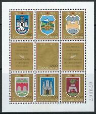 Jugoslawien -  25 Jahre Befreiung Block 16 postfrisch 1970 Mi. 1383-1389