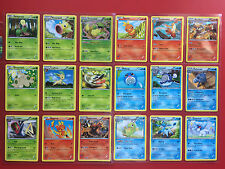 POKEMON CARD SET FURIOUS FISTS x97 COMPLETE COMMON + UNCOMMON + RARE + HOLO RARE