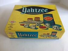 Vintage Yahtzee Board Game With Original Box Milton Bradley E. S. Lowe