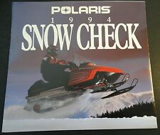 1994 POLARIS SNOWMOBILE SALES BROCHURE SNOW CHECK 8 PAGES NICE  (645)