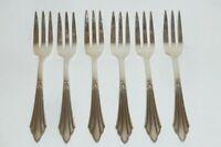 6 Antiguo Tenedores de Cocina WMF Temas Decoración 900 Cubiertos Plata 90er