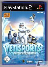 * PLAYSTATION ps2 gioco-EYETOY: Yeti porte Arctic Adventure-completamente OVP *