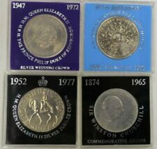 Great Britain: 1965, 1972, 1977, 1980 Crown (4) Cased.