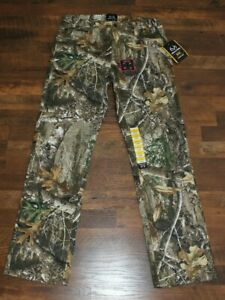 NEW Mens Realtree Edge 5 Pocket Pants CHOOSE SIZE Camo Hunting Bottoms